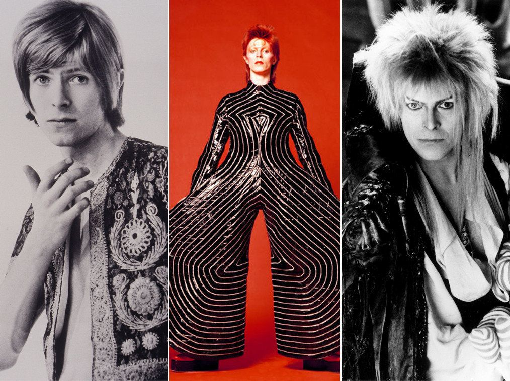 David Bowie: A Look Through The Wardrobe Of Music's Greatest Style Chameleon