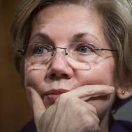 UNITED STATES - JANUARY 05: Sen. Elizabeth Warren, D-Mass., attends a Senate Armed Services Committee hearing in Dirksen Building titled 'Foreign Cyber Threats to the United States,' featuring testimony by Director of National Intelligence James Clapper and others, January 5, 2016. (Photo By Tom Williams/CQ Roll Call)