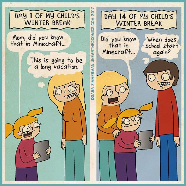 sara zimmerman unearthed comics - When Does School Start After Christmas Break