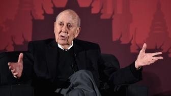 LOS ANGELES, CA - APRIL 30:  Actor Carl Reiner speaks onstage during  'An Afternoon with Carl Reiner - Dead Men Don't Wear Plaid' during day 3 of the TCM Classic Film Festival 2016 on April 30, 2016 in Los Angeles, California. 25826_006  (Photo by Alberto E. Rodriguez/Getty Images for Turner)