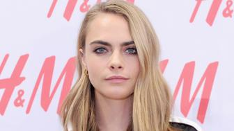 NEW YORK, NY - NOVEMBER 17:  Cara Delevingne attends H&M and Cara Delevingne to celebrate the opening of a new location at Westfield World Trade Center at H&M on November 17, 2016 in New York City.  (Photo by Craig Barritt/Getty Images for H&M)