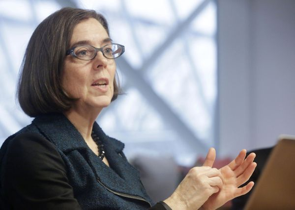 "Kate Brown became the United States' first openly bisexual governor when <a href=""https://www.huffpost.com/entry/kate-brown-o"