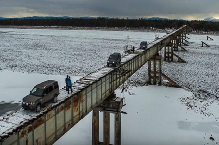 <strong>Kuandinsky Bridge of Kuanda, Russia</strong>