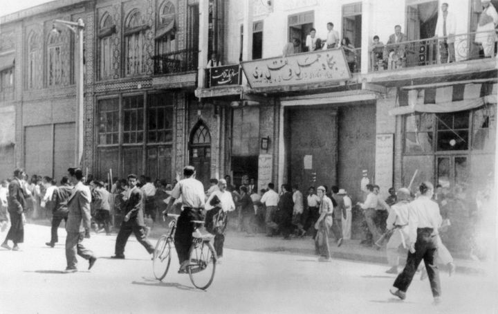 Massive protests broke out across Iran following the 1953 coup.