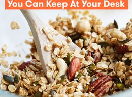 15 Healthy Snacks For Work That You Can Keep At Your Desk
