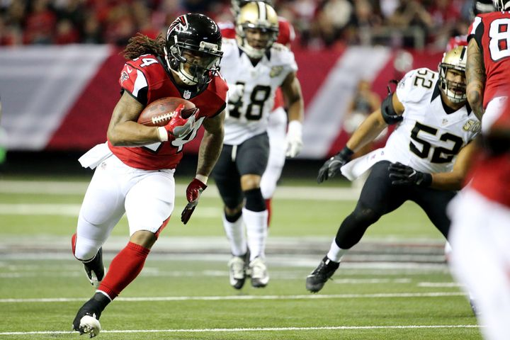 Third-year running back Devonta Freeman has enjoyed another productive year, with 13 touchdowns and a second consecutive