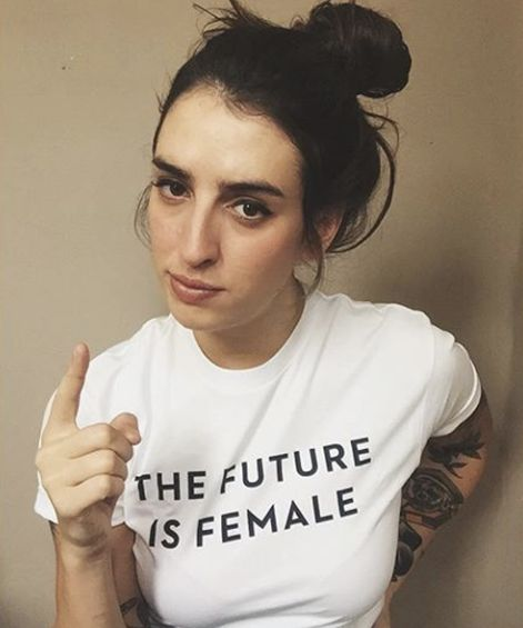 """$30, Otherwild. 25 percent of proceeds donated to Planned Parenthood. <a href=""""http://otherwild.com/products/the-future-is-fe"""
