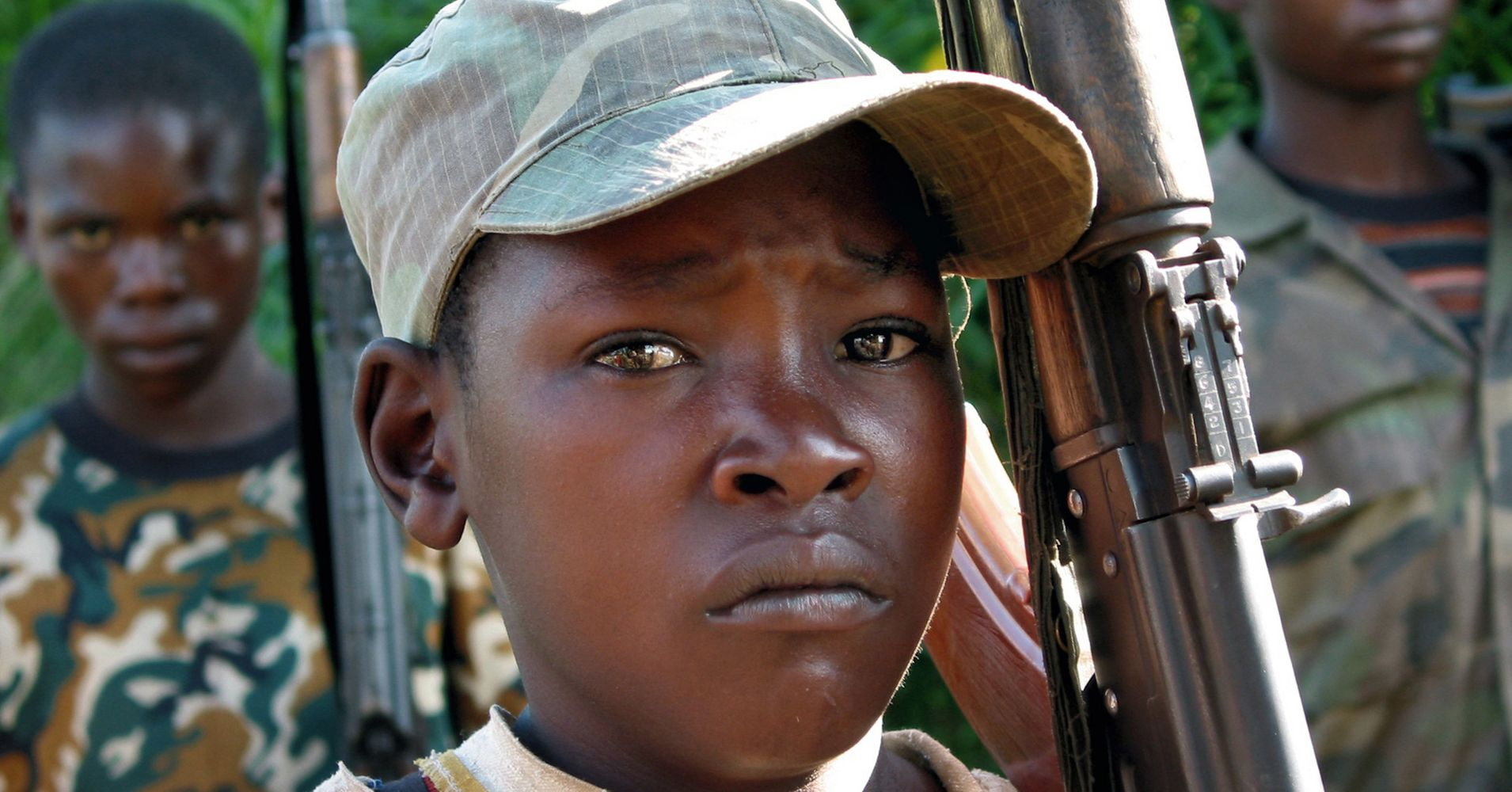 konys child soldiers when you kill for the first time