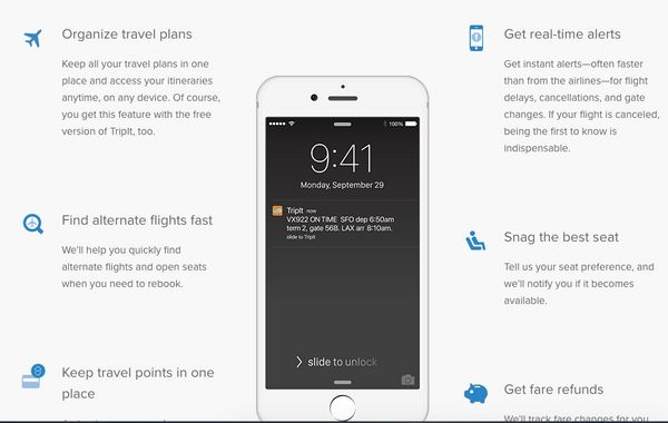"""Like a personal assistant, <a href=""""https://www.tripit.com/"""" target=""""_blank"""">TripIt</a> keeps details for your flights, hotel"""