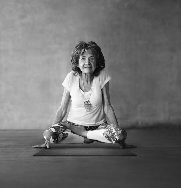 Tao Porchon-Lynch is the world's oldest yoga instructor.