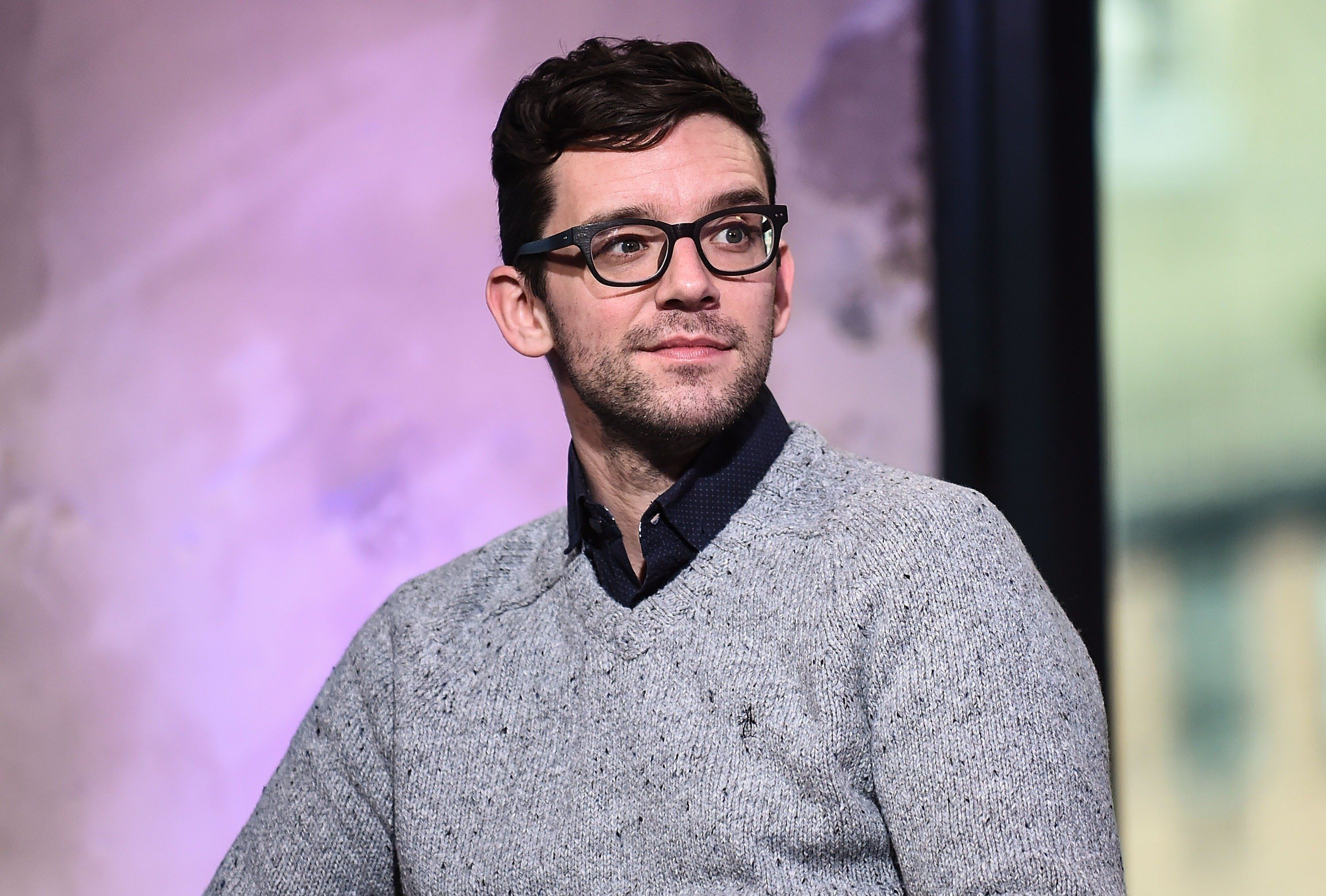NEW YORK, NY - DECEMBER 19:  Michael Urie attends AOL Build to discuss the show 'Bright Colors And Bold Patterns' at AOL HQ on December 19, 2016 in New York City.  (Photo by Daniel Zuchnik/WireImage)