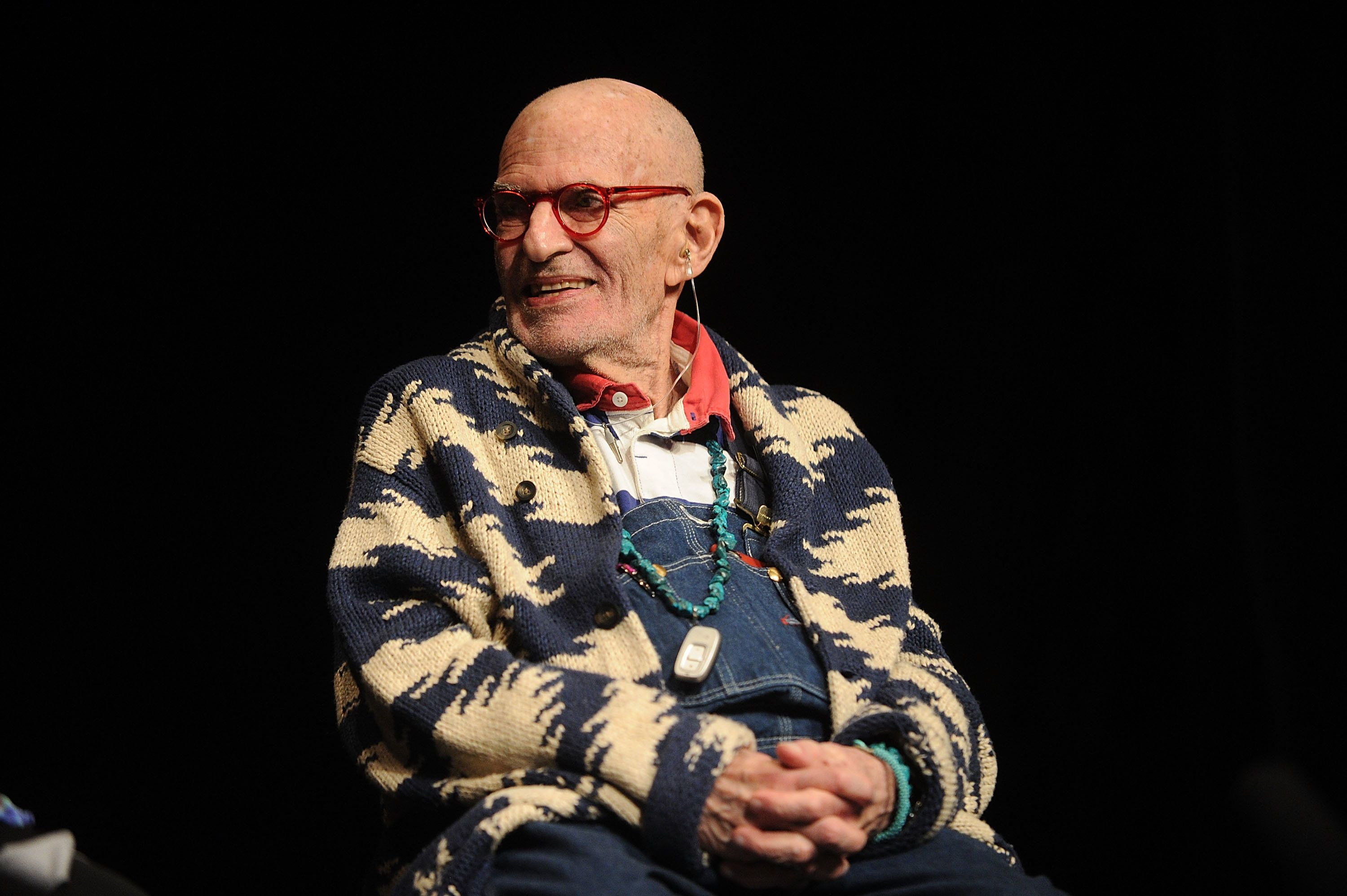 NEW YORK, NY - SEPTEMBER 30:  Playwright Larry Kramer attends the 2016 #IdentityWeek Reception at Vineyard Theatre on September 30, 2016 in New York City.  (Photo by Brad Barket/Getty Images)