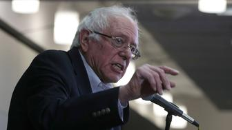 WASHINGTON, DC - DECEMBER 14:  U.S. Sen. Bernie Sanders (I-VT) speaks during an event at the headquarters of American Federation of Teachers December 14, 2016 in Washington, DC. The event was held to outline EllisonÕs vision as he campaigns to become the next chairman of the Democratic National Committee.  (Photo by Alex Wong/Getty Images)