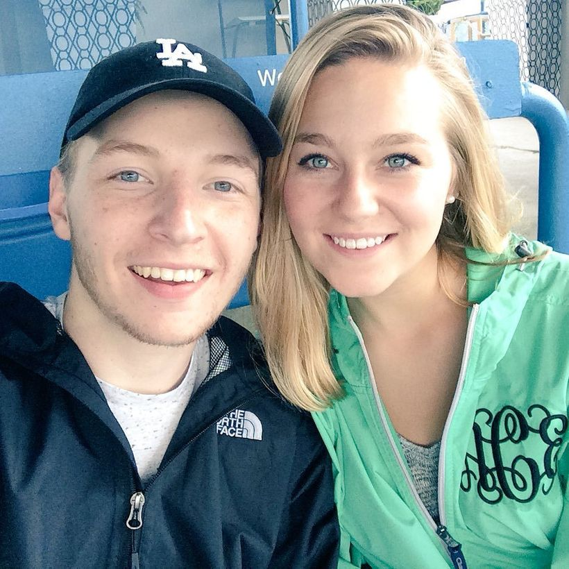 <strong>Chase and wife, Alex, attend the Western and Southern Open in Cincinnati, OH</strong>