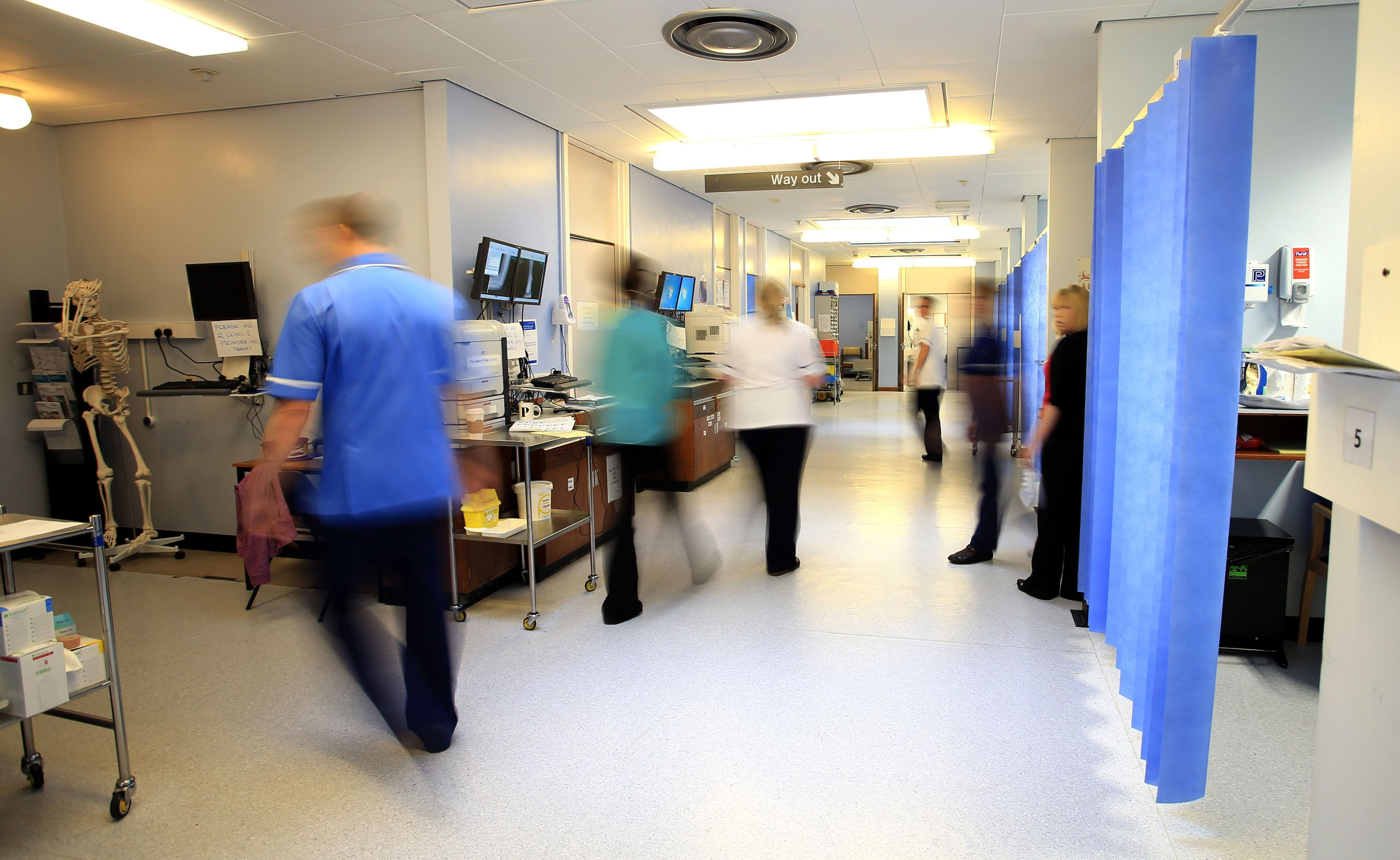 Doctors have warned the emergency care system is 'on its