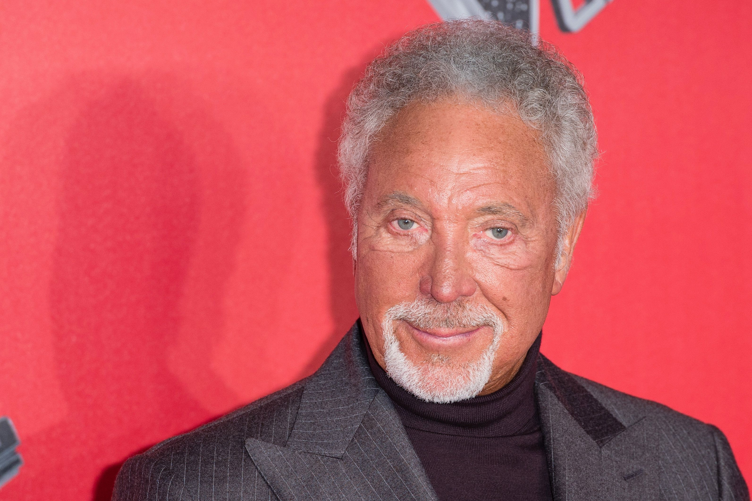 Sir Tom Jones at the show's London press