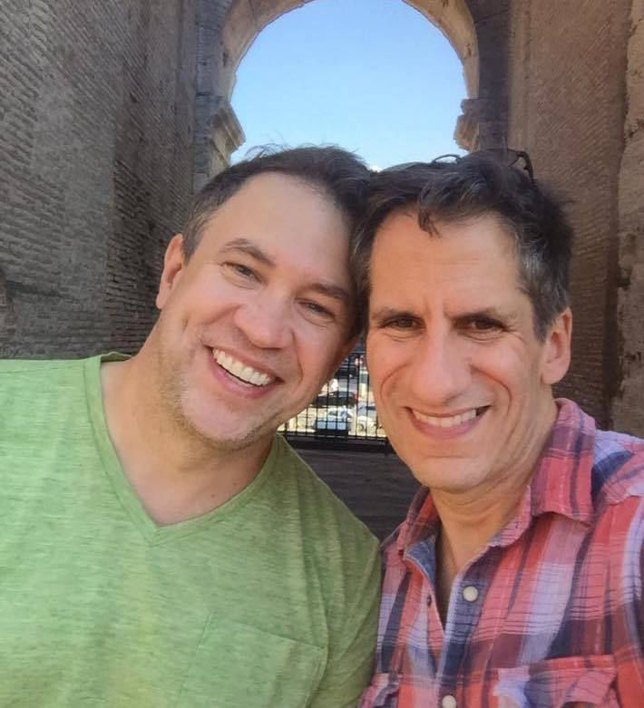 James Wesley and Seth Rudetsky