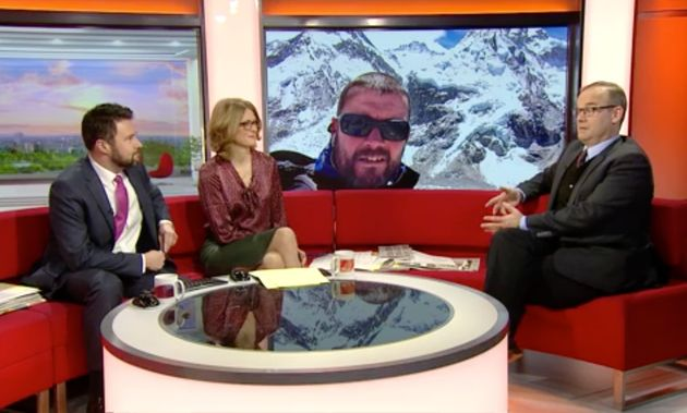 BBC Breakfast Presenters Introduce Wrong Guest Live On