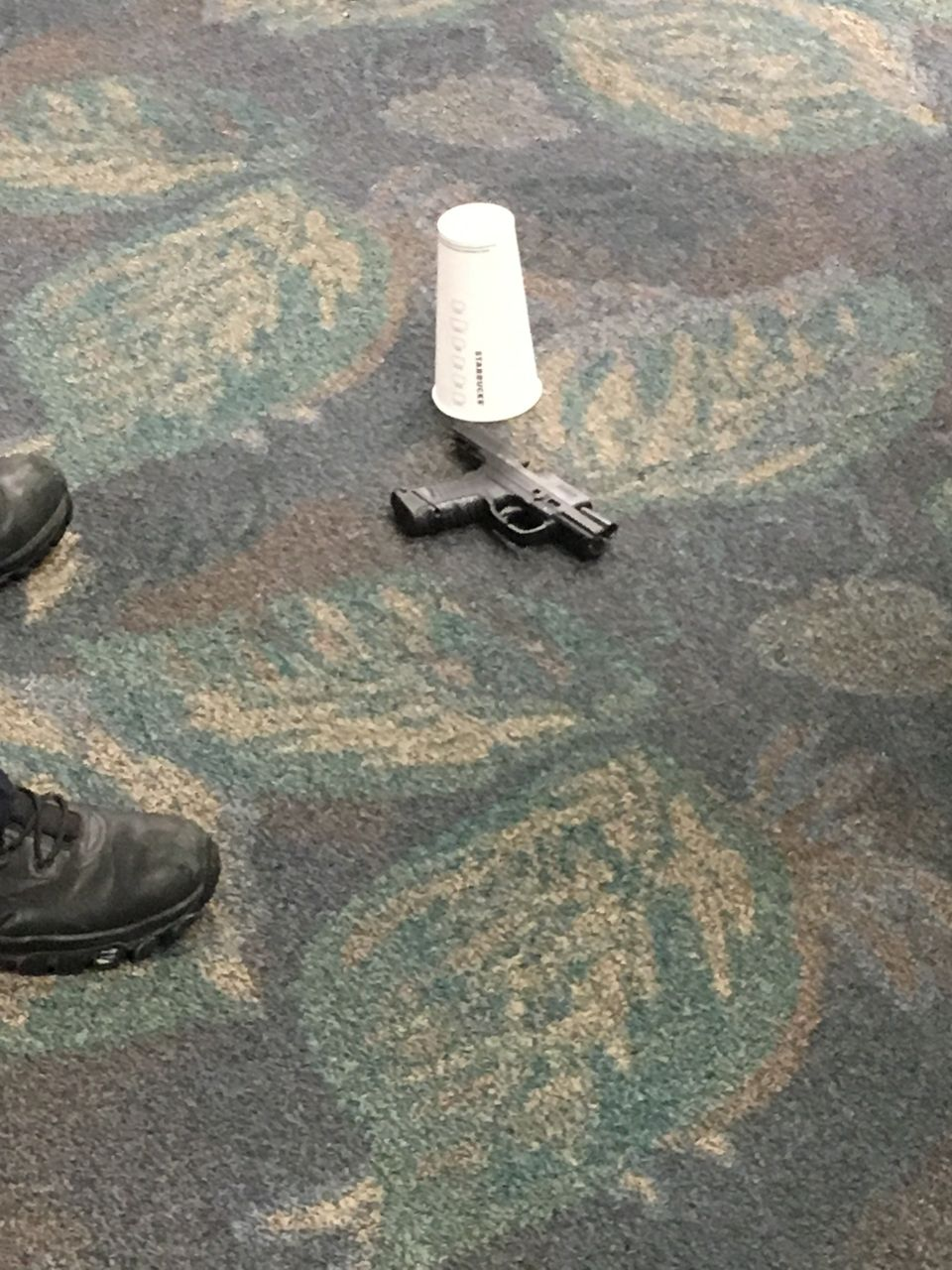 The gun used in the shooting at Ft. Lauderdale-Hollywood International airport that killed 5 people and injured 8.