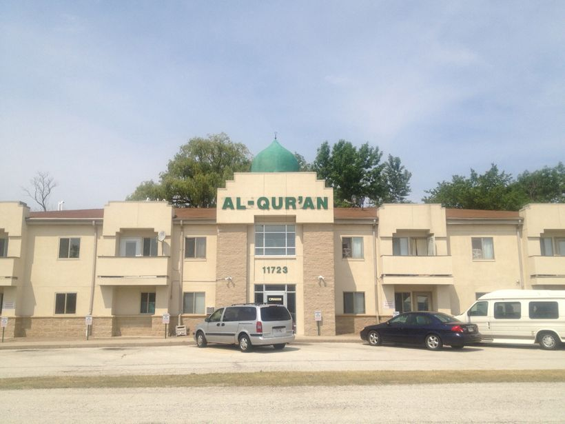 Masjid Al Qur'an is located at 11723 W. Brown Deer Road, Milwaukee, WI 53224
