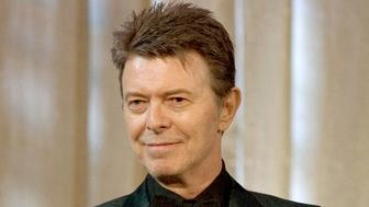 FILE - In this June 5, 2007 file photo, David Bowie attends an awards show in New York. Artists are honoring David Bowie Thursday, March 31, 2016, at a tribute concert at Carnegie Hall in New York. Bowie died on January 10 at age 69. (AP Photo/Stephen Chernin, File)