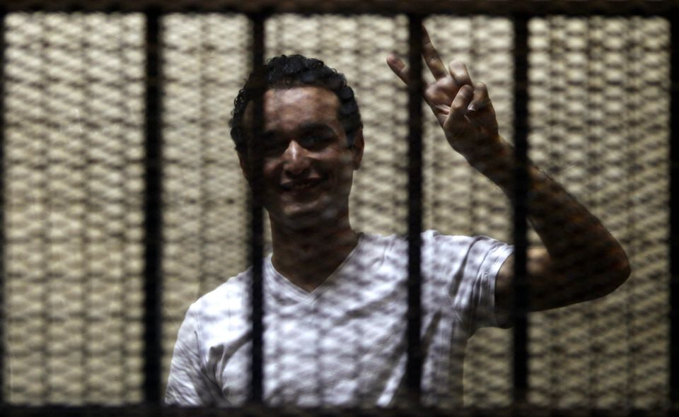 <i>Detained since Dec. 3, 2013; sentenced to life in prison on Feb. 4, 2015.<br><br></i>Ahmed Douma is an Egyptian political