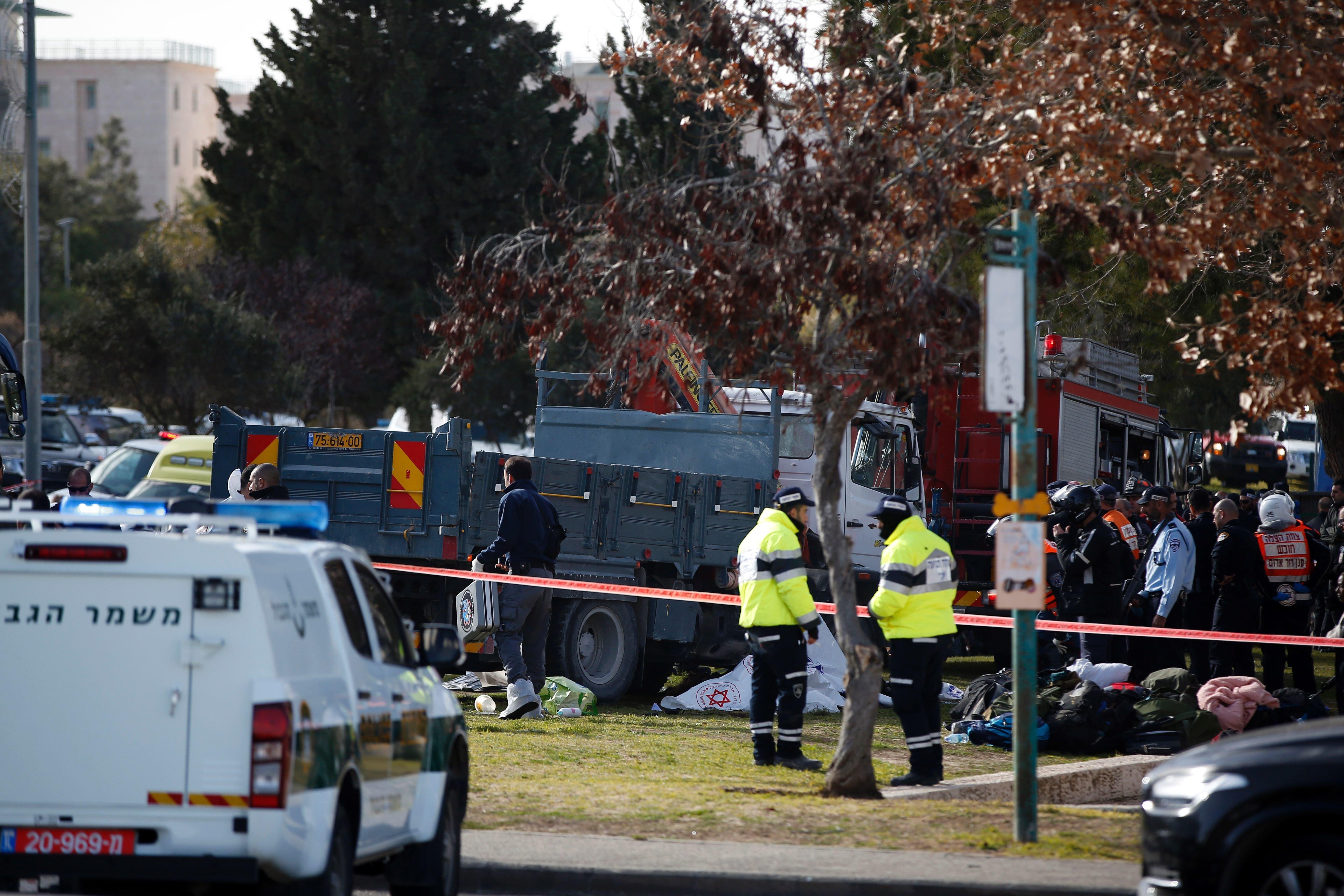 At Least Four Dead In Jerusalem Truck-Ramming