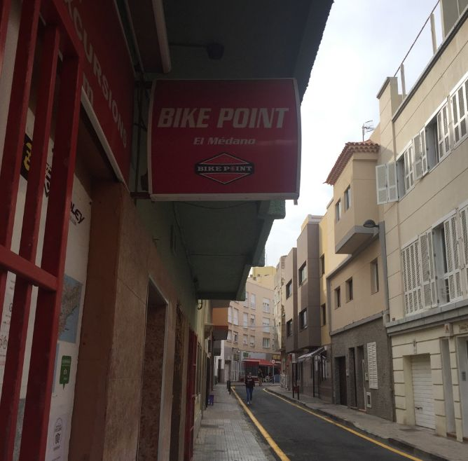 Bike Point in El Medano