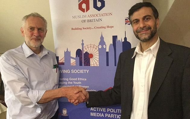 Corbyn meetingMohammed