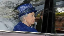 Queen Attends Church For First Time After Missing Services During Festive