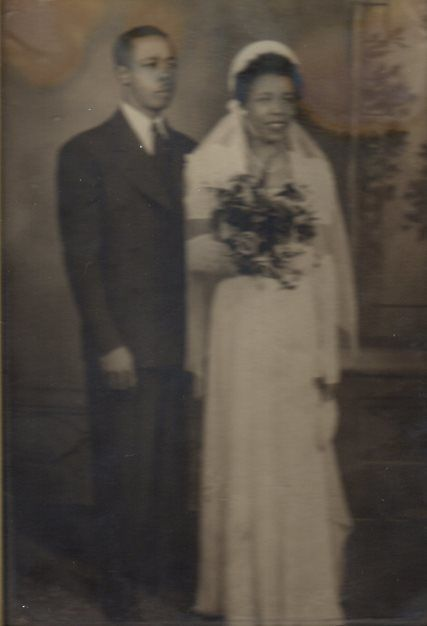The Dreamers: my parents, Ernest and Alberta Dagnal, on their wedding day