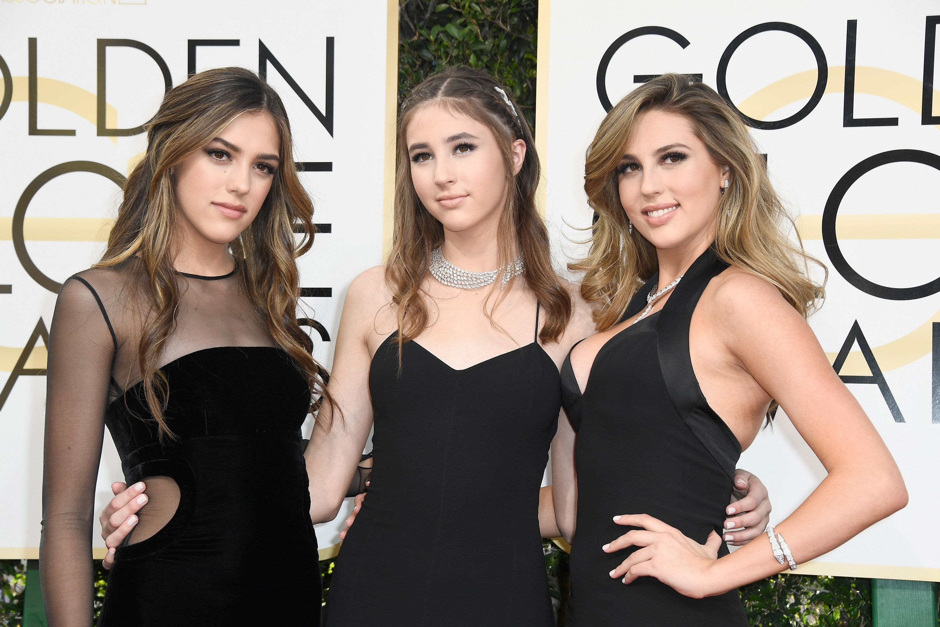 Golden Globes 2017: Sylvester Stallone's Daughters Sistine, Sophia And Scarlet Lead The Best