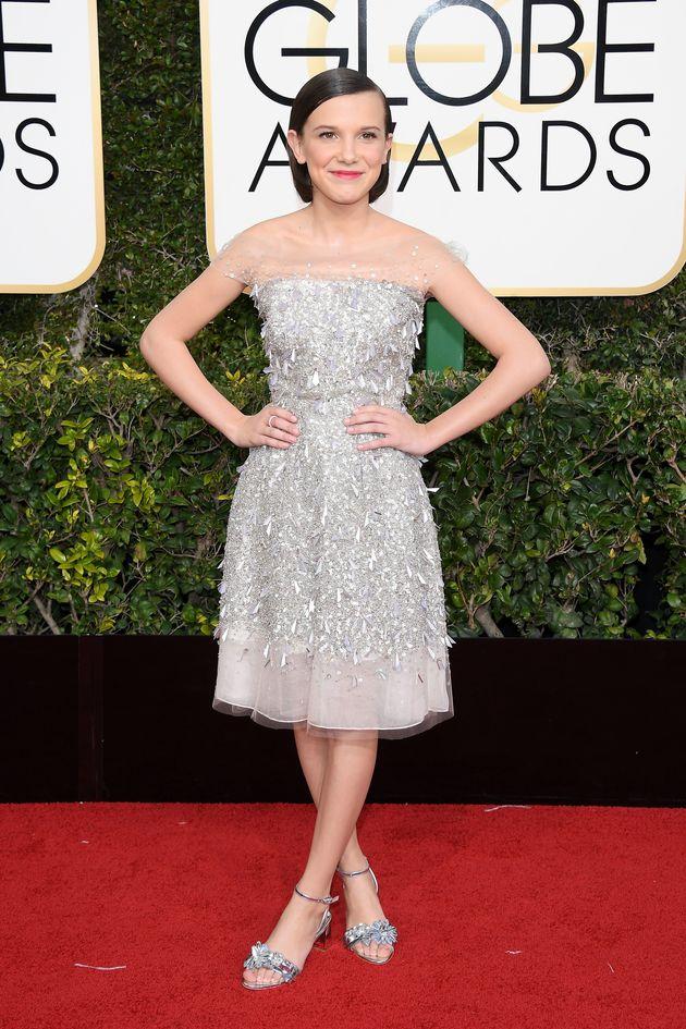 'Stranger Things' Kids Already Look Like Winners On The Golden Globes Red
