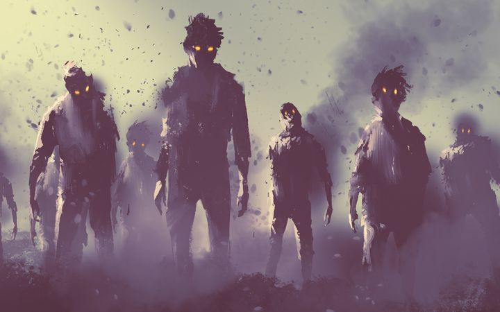 Wait, how fast could zombies wipe out the world's population?