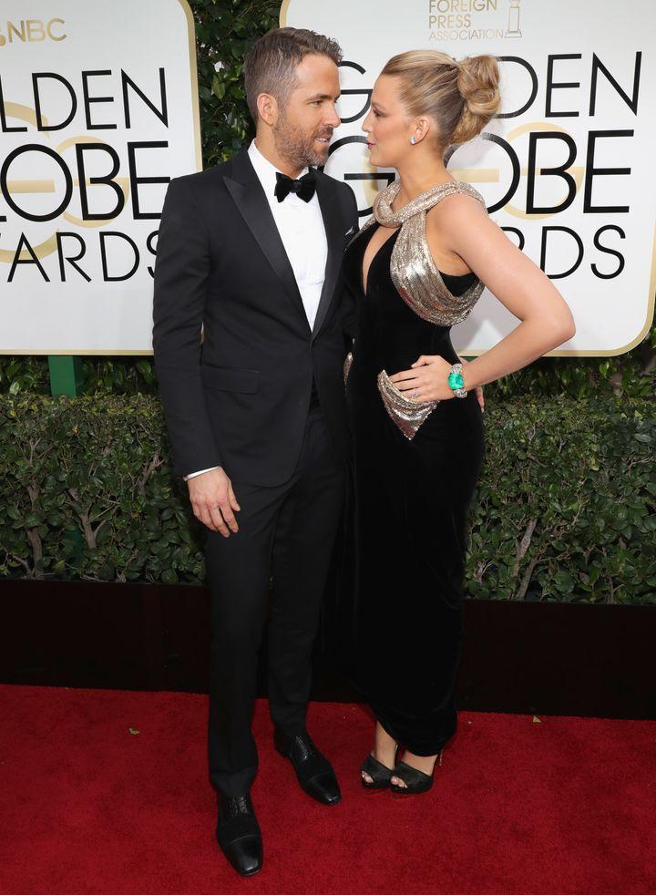 Hollywood power couple.