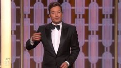 Jimmy Fallon's Golden Globes Monologue Got Awkward After Teleprompter
