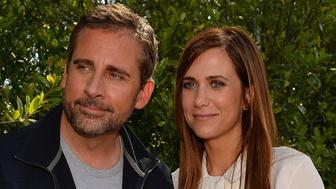 LOS ANGELES, CA - JUNE 22:  Actors Steve Carell (L) and Kristen Wiig attend the premiere of Universal Pictures' 'Despicable Me 2'  after party held at Universal City on June 22, 2013 in Los Angeles, California.  (Photo by Mark Davis/Getty Images)