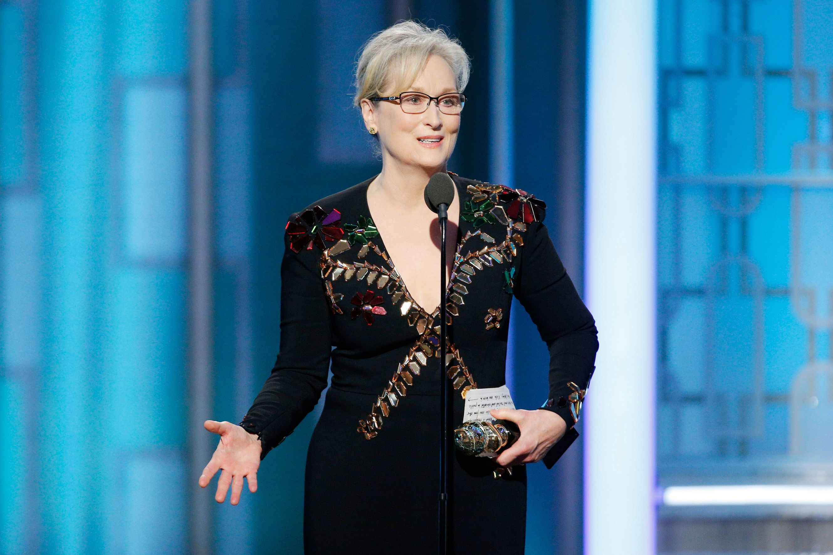 Meryl Streep Goes After Donald Trump In Powerful Golden Globe