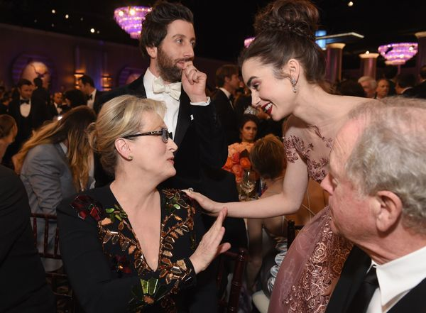 Lily Collinspraises Meryl Streep, just like the rest of us.