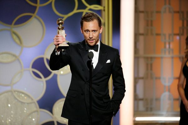 Tom Hiddleston takes home the award forBest Actor in a Limited Series or Motion Picture for TV.