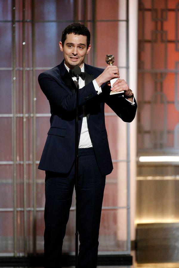 Damien Chazelle wins Best Director.
