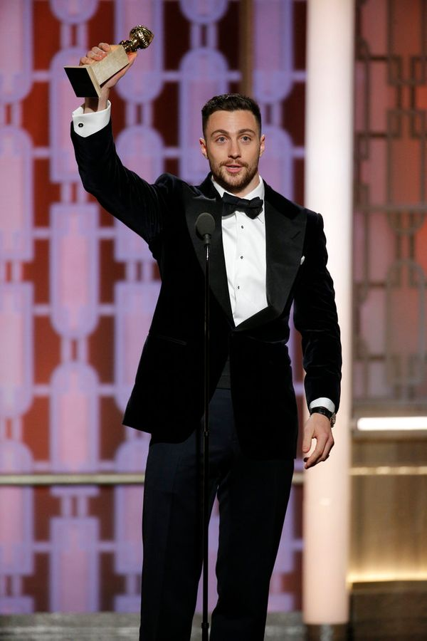 Aaron Taylor-Johnson takes home the award for Best Supporting Actor In A Motion Picture.