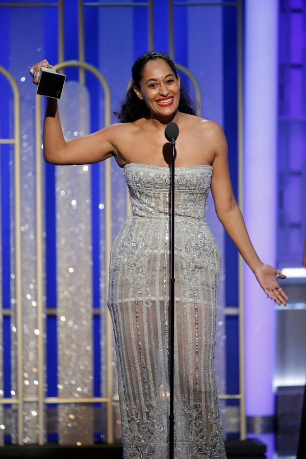 Tracee Ellis Ross wins Best Actress in a Television Series, Musical or Comedy.