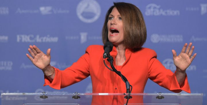 "Former Rep. Michele Bachmann says the State Department's ""evil"" gay agenda could come to an end during the Trump presidency."