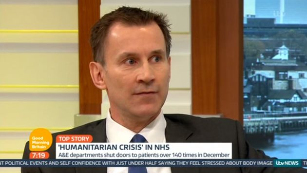 Piers Morgan Accuses Jeremy Hunt Of Letting NHS Return To The 'Dark Ages' During Tense