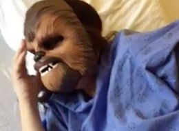 Woman Wears Chewbacca Mask While In Labour, Tells People To Never Take Life Too Seriously