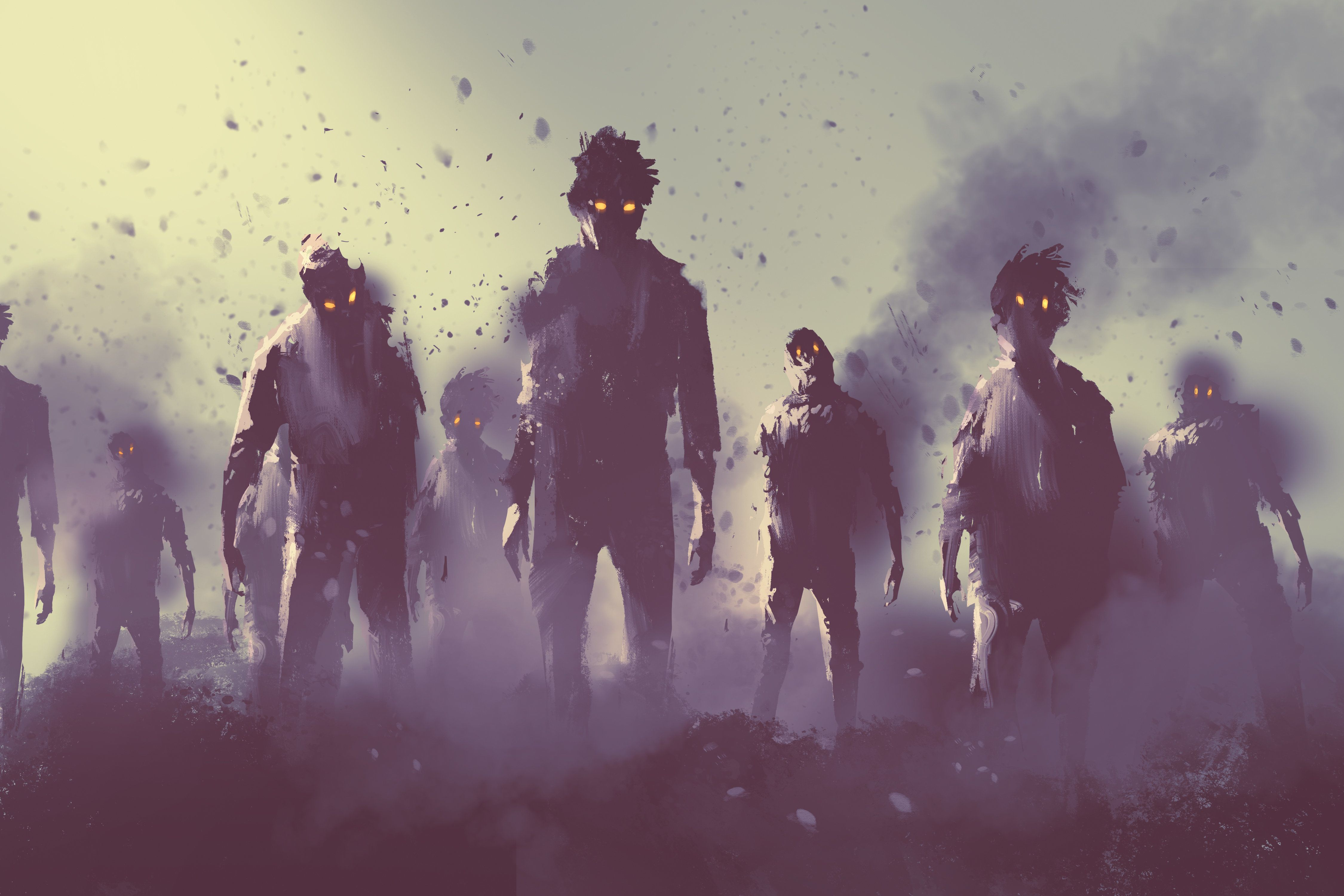 A Zombie Infection Would Need Just 100 Days To Almost Completely Destroy