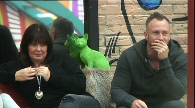 Coleen Nolan and fellow 'All Star' housemate James