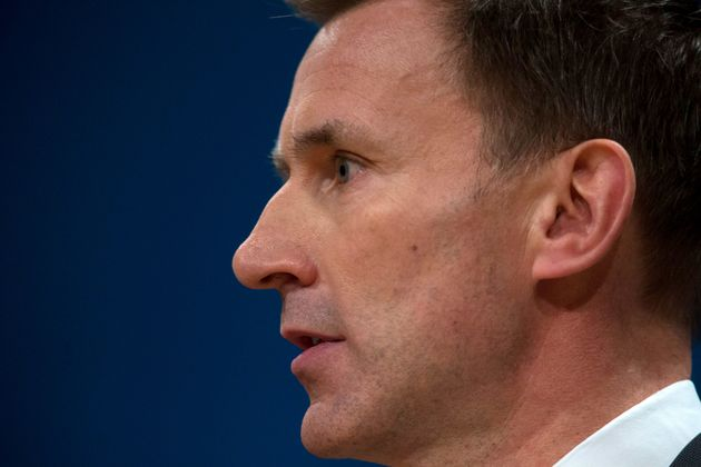 """Health Secretary Jeremy Hunt has beenaccused of allowing the health service to return to the """"dark"""