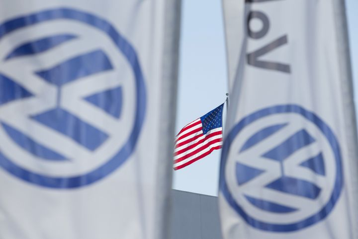 A Volkswagen executive is facing conspiracy charges after the car company was found cheating exhaust emissions tests.